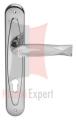 Klamka FISH Crystal 700PL z otworem na wkładkę - CR chromowany błyszczący