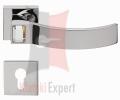 Klamka ELIOS 019 z dolną rozetą na wkladke