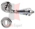 Klamka Veronica 103 z dolną rozetą na zwykły klucz